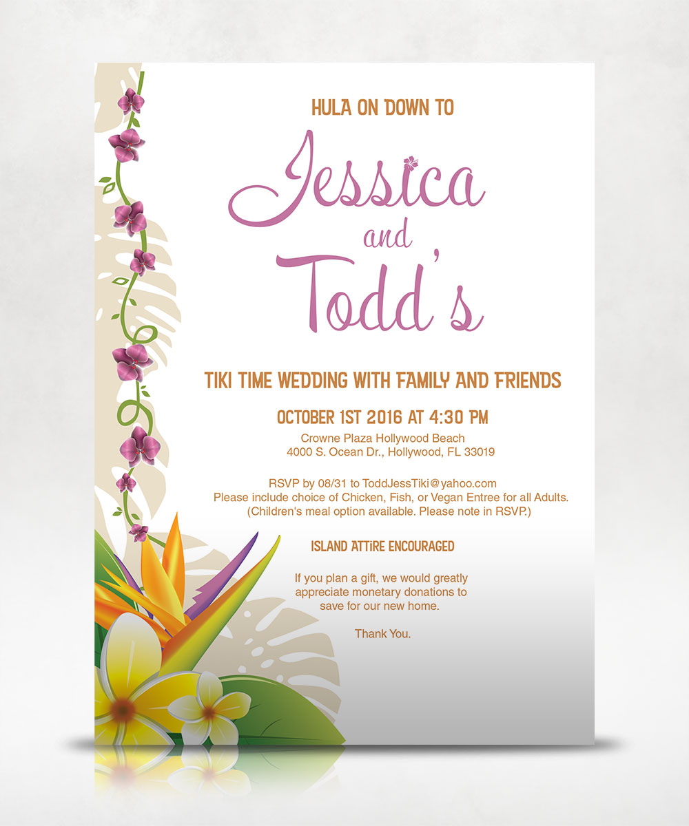 JT Wedding Invitation