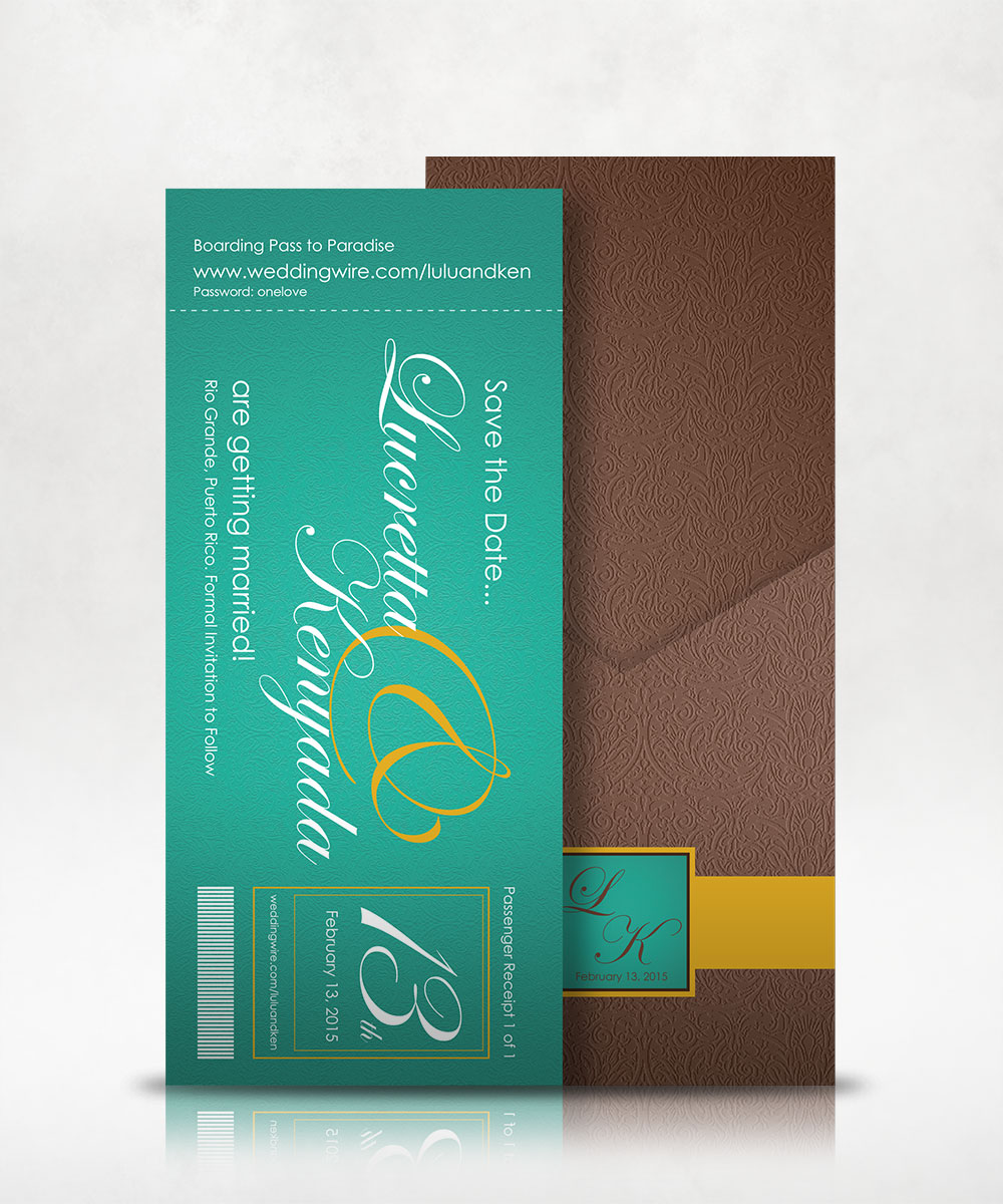 LK Wedding Invitation