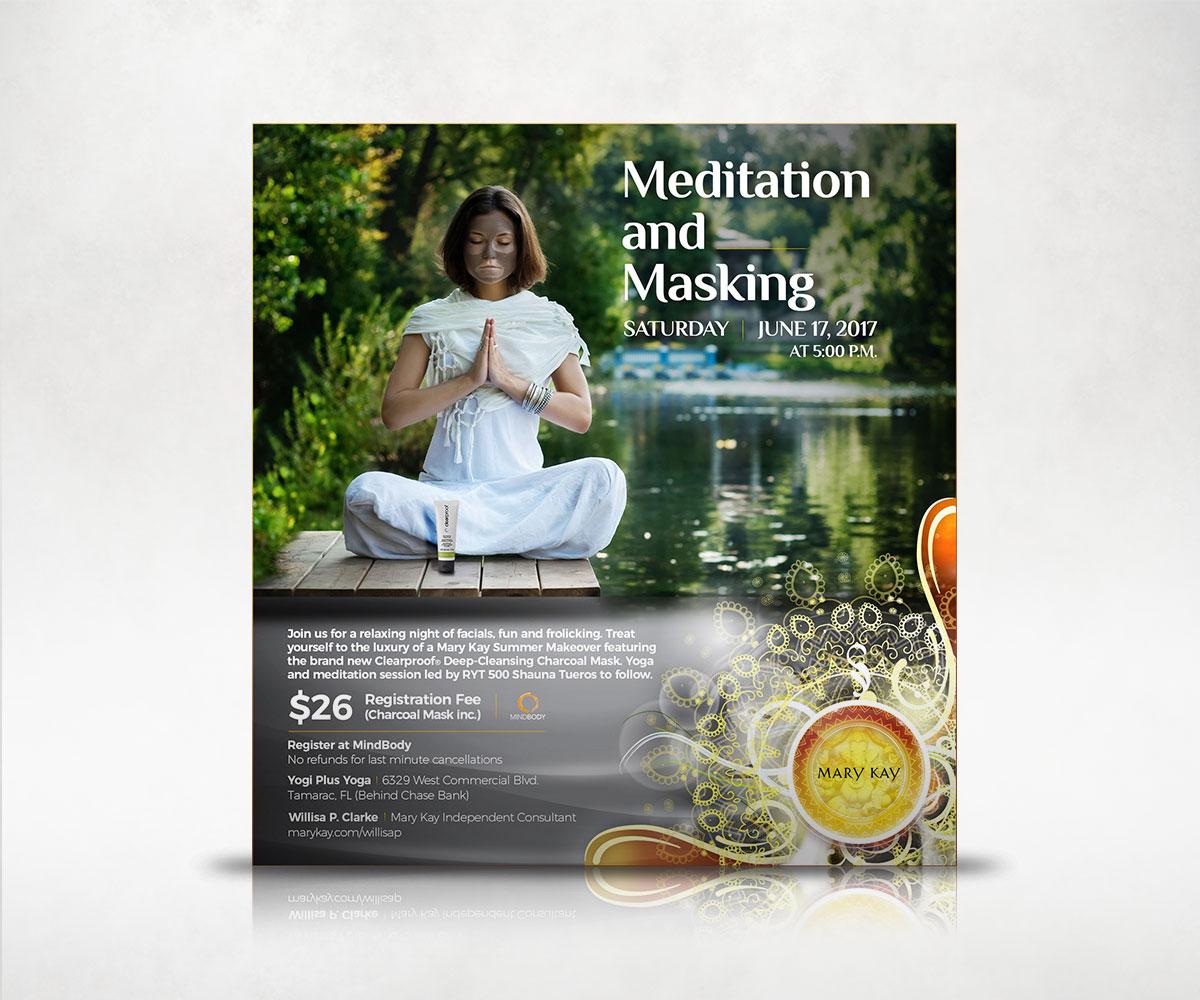 Yoga & Masking Flyer