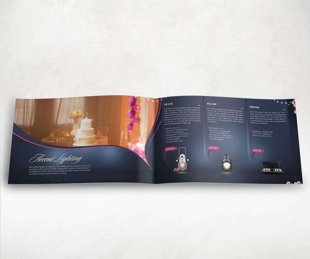Chauvet Wedding Brochure Spread