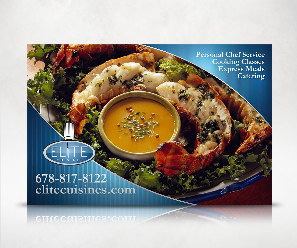 Elite Cuisines Car Magnet